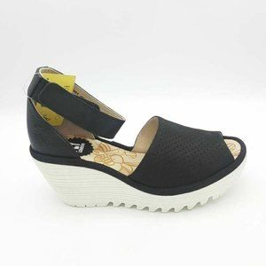 FLY London YAKE881FLy Sandal Shoes Black EU 40